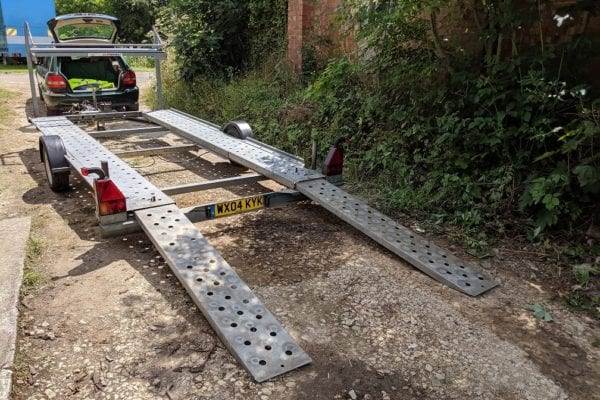 WOODFORD TRAILER FOR SALE -  £1500ono